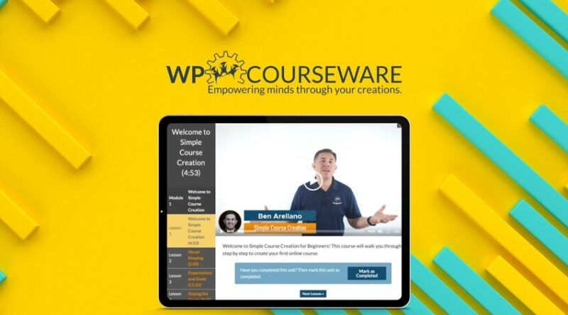 Create a self-hosted course right on your WordPress site with WP Courseware