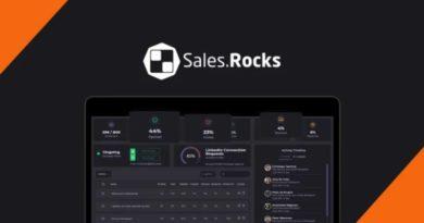Sales rocks